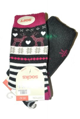 WiK Thermo Socks Cotton 38232 A'2 skarpety