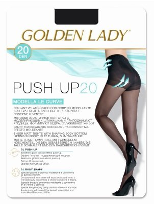 Golden Lady Push-up 20 den rajstopy