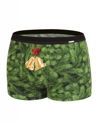 Cornette 007/52 Bells Merry Christmas bokserki