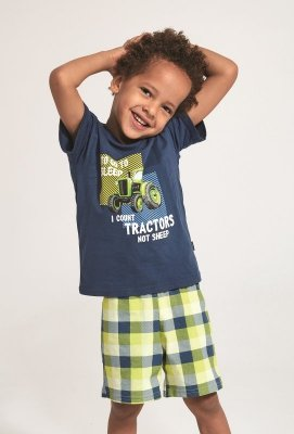 Cornette Kids Boy 789/79 Tractor  86-128 piżama chłopięca
