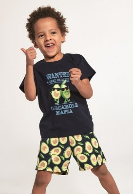 Cornette Kids Boy 789/84 Avocado 2 86-128 piżama chłopięca