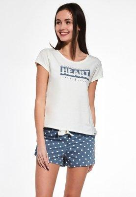 Cornette F&Y Girl 363/33 Heart 158-176 piżama młodzieżowa dziewczęca