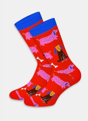 Dots Socks DTS Cats & Dogs skarpetki