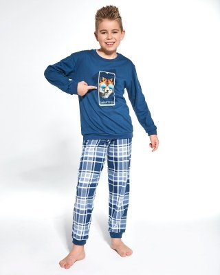 Cornette Young Boy 966/107 Smartfox 134-164 piżama chłopięca