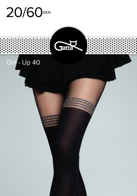 Gatta Girl-Up wz.40 20/60 den rajstopy damskie