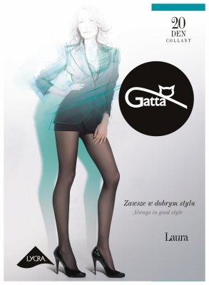 Gatta Laura 20 den 6-XXL rajstopy