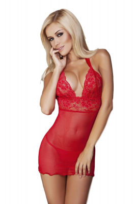 DKaren Vici czerwona koszulka damska