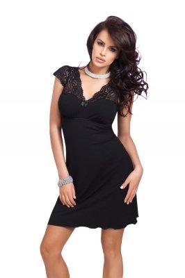 Donna Diana czarna Koszula nocna