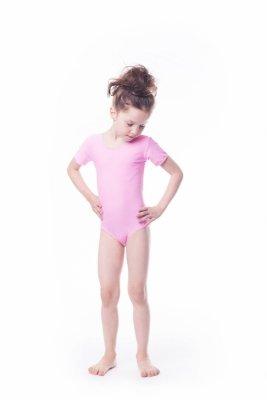 Shepa Body gimnastyczne lycra (B9) krótki rękaw