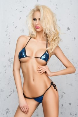 Me Seduce Costa Brava Blue Mini bikini