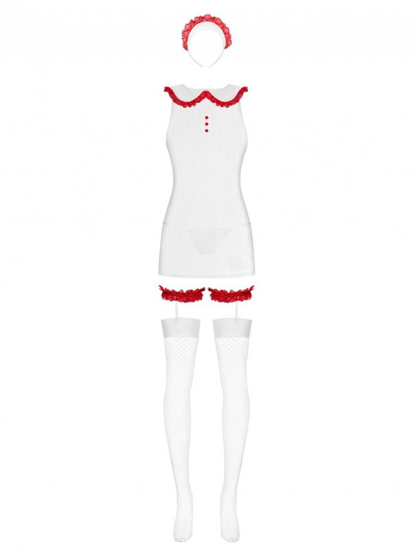Obsessive Caregirl Kostium 5-częściowy