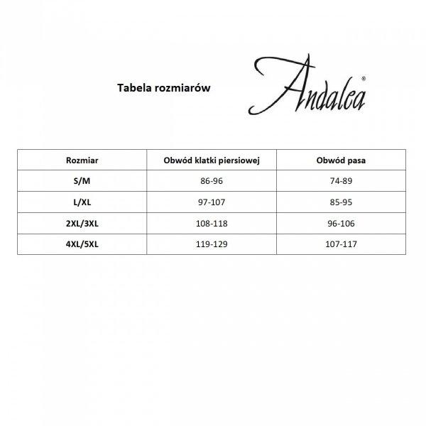 Andalea MC/9024 Desire black Stringi męskie