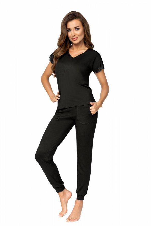 Donna Demi czarna Piżama damska