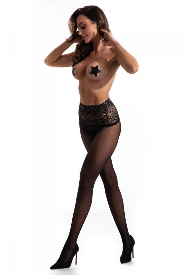 Amour Naked Black 30 DEN Rajstopy