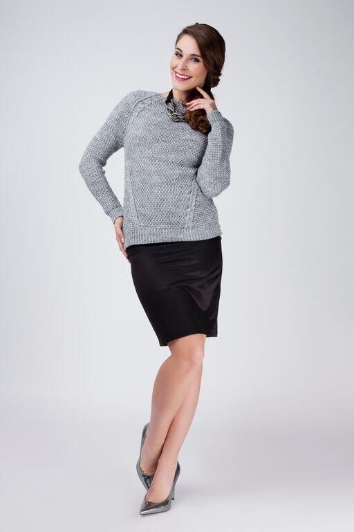 MKM Anastazja szary sweter