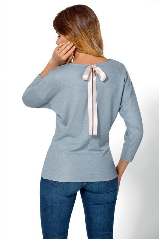 Babell Mia Błękitna bluzka damska
