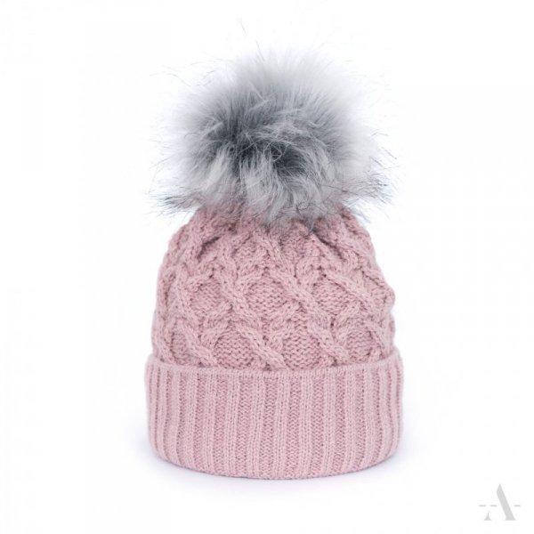 art of polo Romantic diamond Różowa czapka