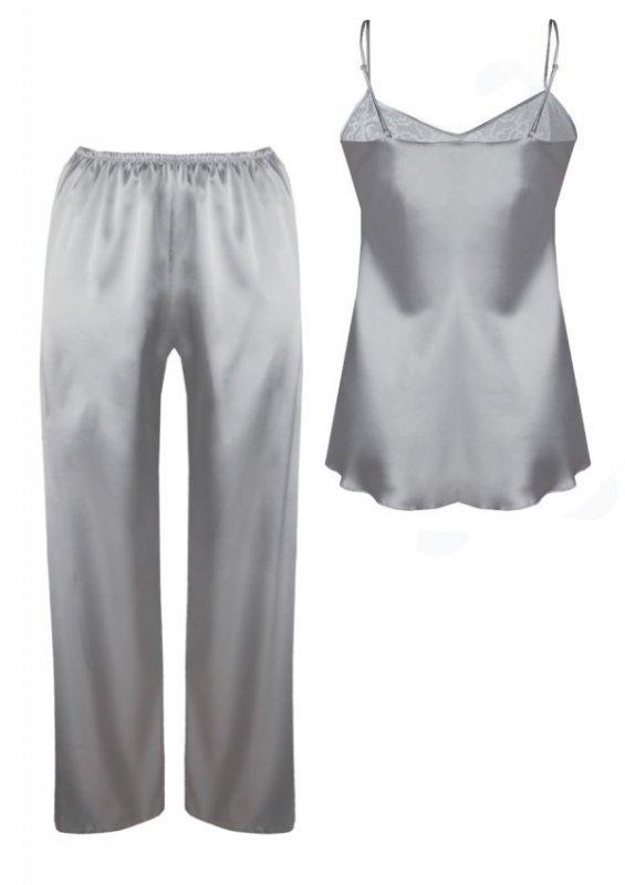DKaren Avery Srebny piżama damska
