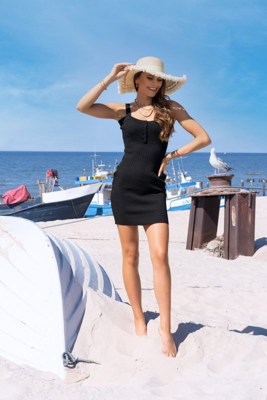 Merribel Soriee Black sukienka damska