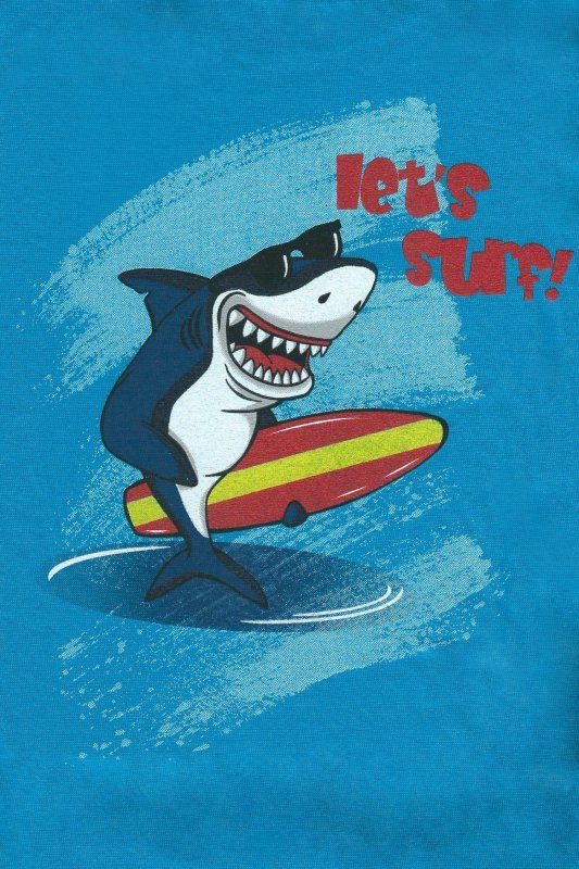 Cornette Shark 789/90 Turkusowa piżama chłopięca