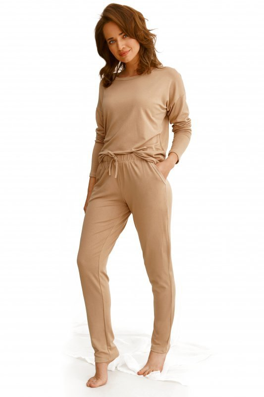 Taro Emily 2578 beżowa piżama damska