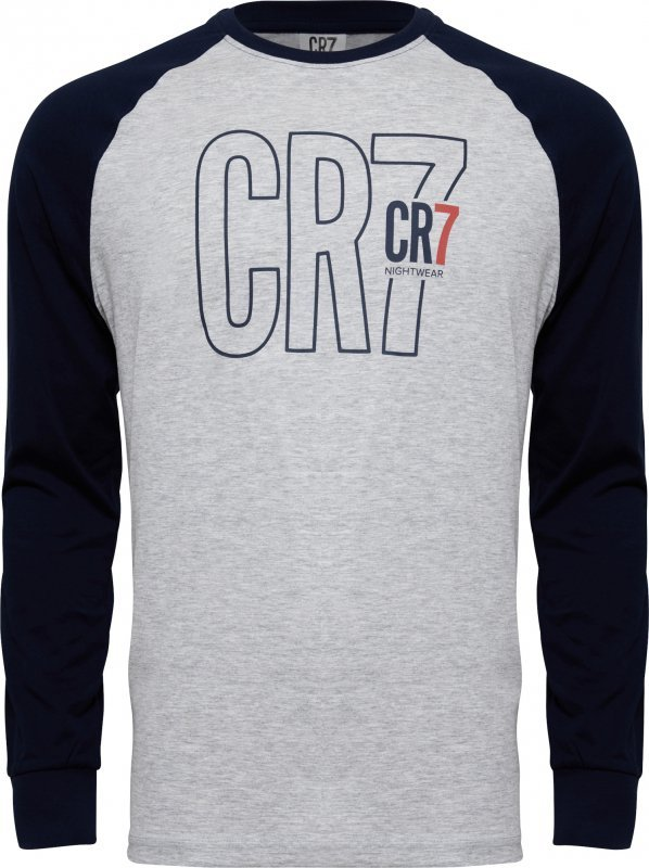 Cristiano Ronaldo  CR7 8730-42-4908 szara piżama męska
