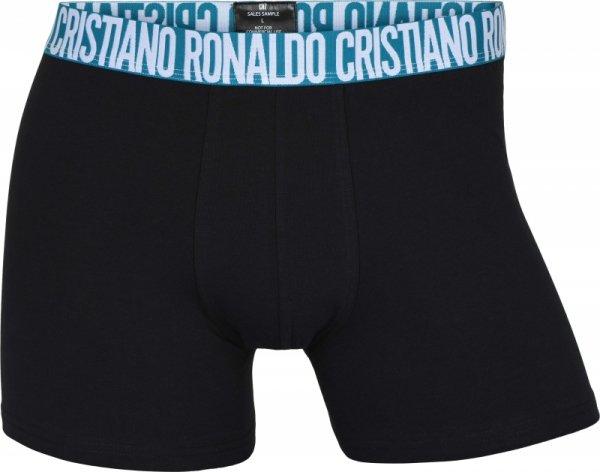 Cristiano Ronaldo CR7 8100 czarne 3-pak bokserki męskie