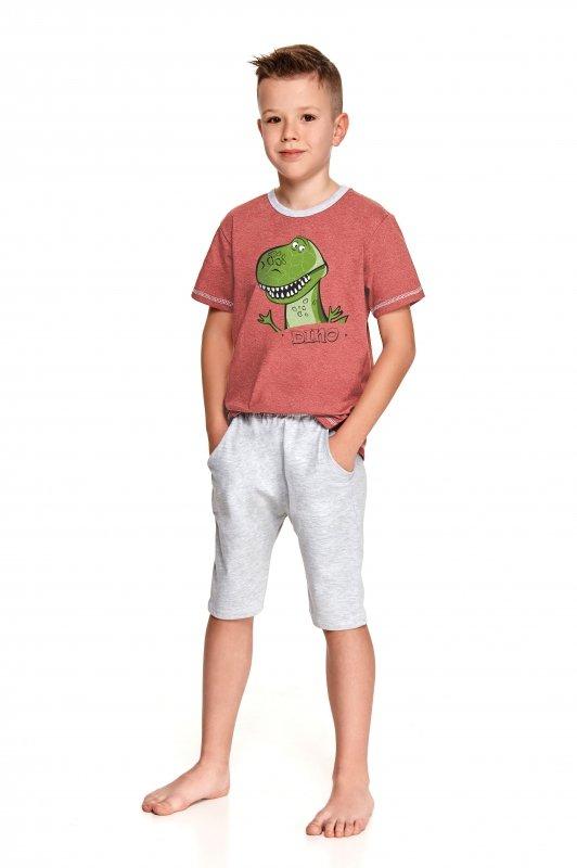Taro Alan 2216 Bordowa piżama chłopięca