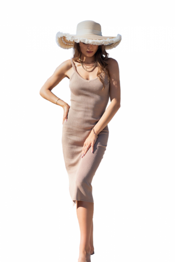 Merribel Ocyanna Beige sukienka damska