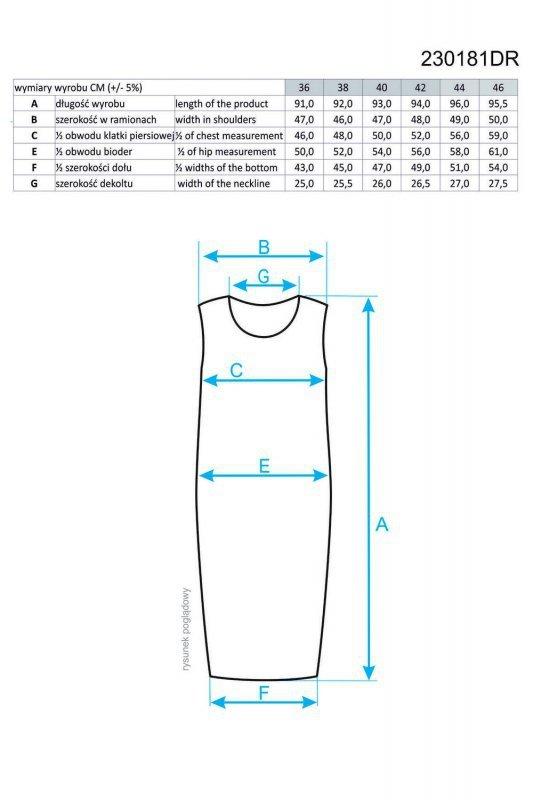 Ennywear 230181 sukienka