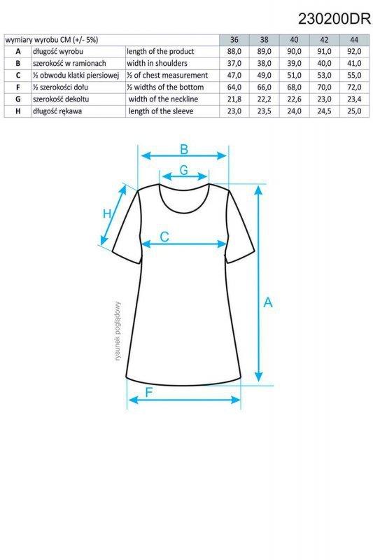 Ennywear 230200 sukienka