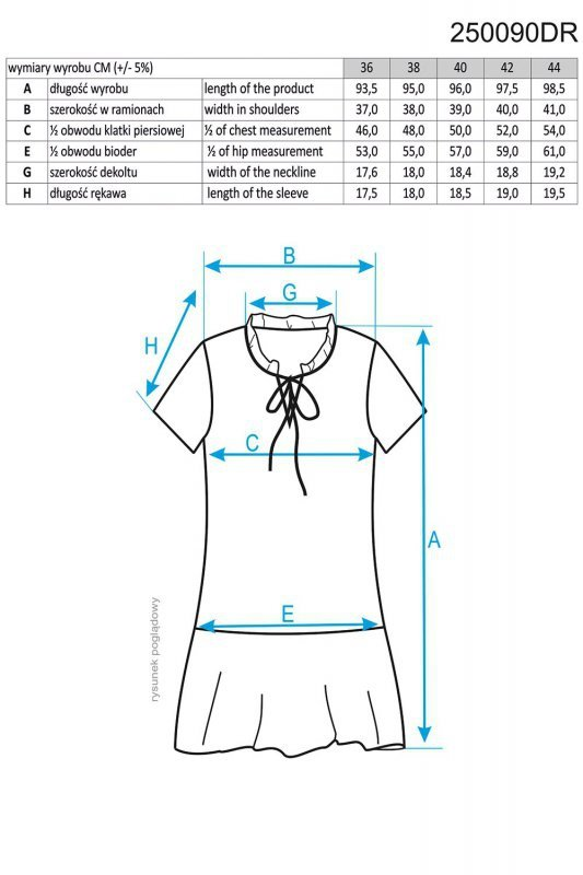 Ennywear 250090 sukienka