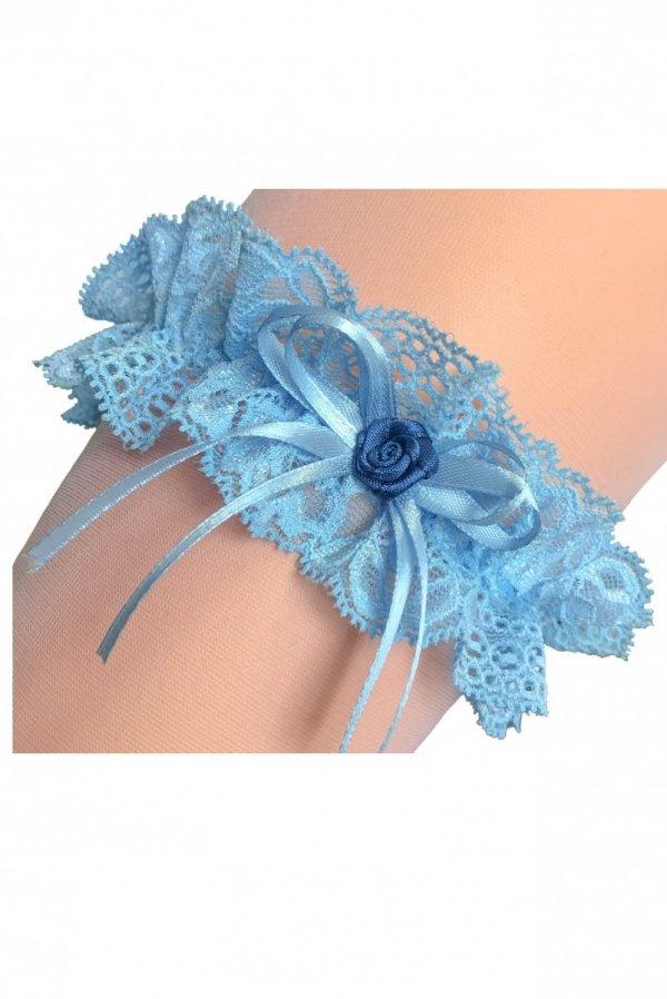 Enjoy Florence 3 błękitna Podwiązka