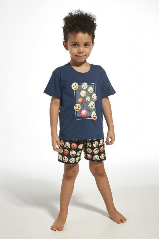 Cornette 789/76 kids emoticon jeans piżama chłopięca