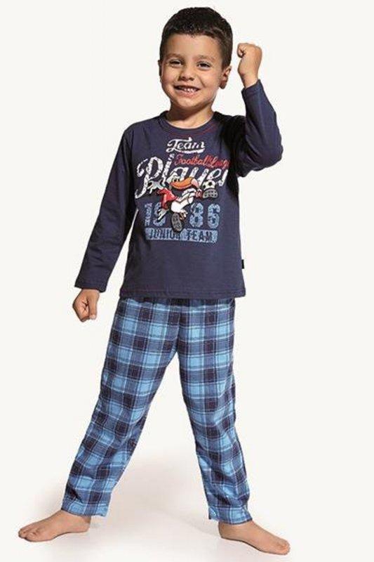 Cornette 809/11 Player jeans piżama chłopięca