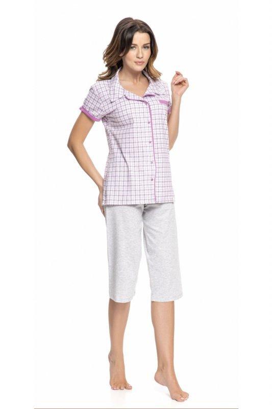 Dobranocka 9050 fuksja piżama damska