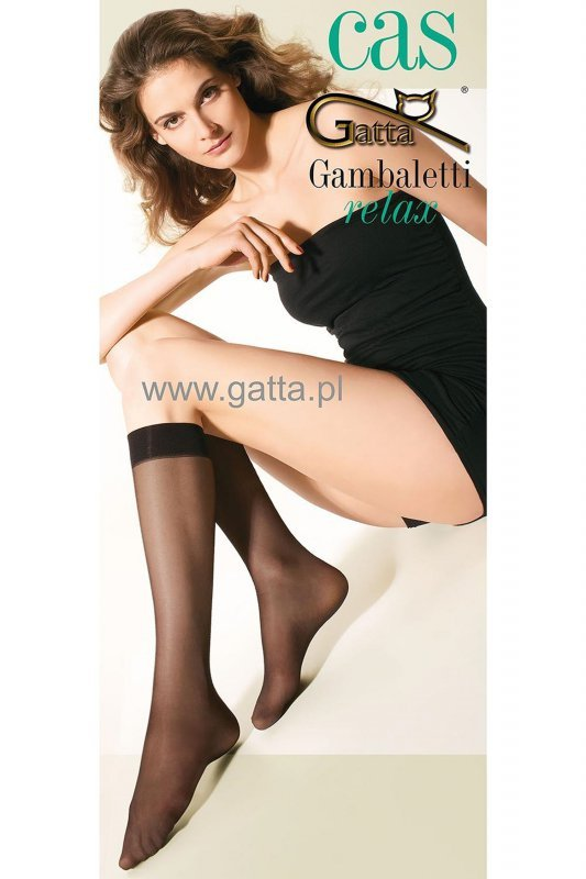 Gatta cas leg care 30 den relax beżowy podkolanówki