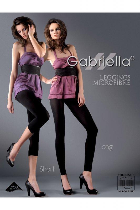 Gabriella 138 microfibra short chocco legginsy