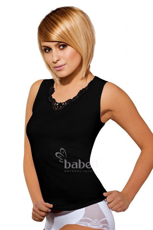 Babell malika plus czarny koszulka