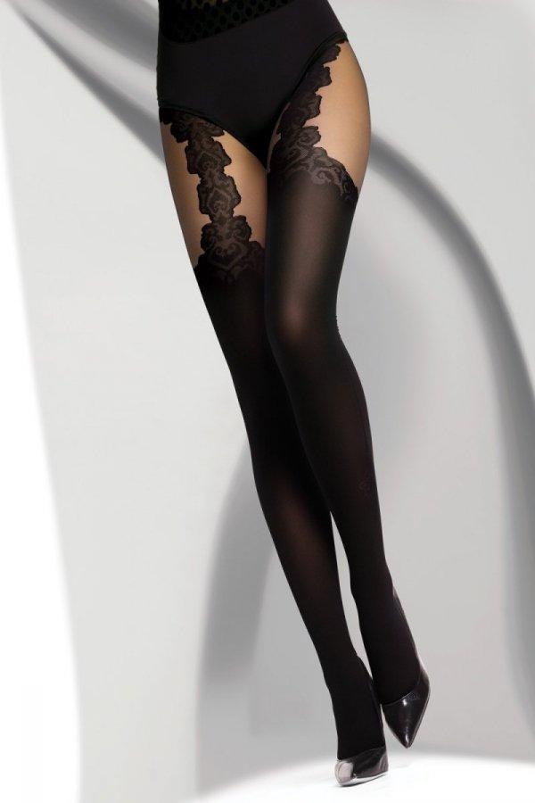 Livia Corsetti Renitana 40 DEN Black Rajstopy