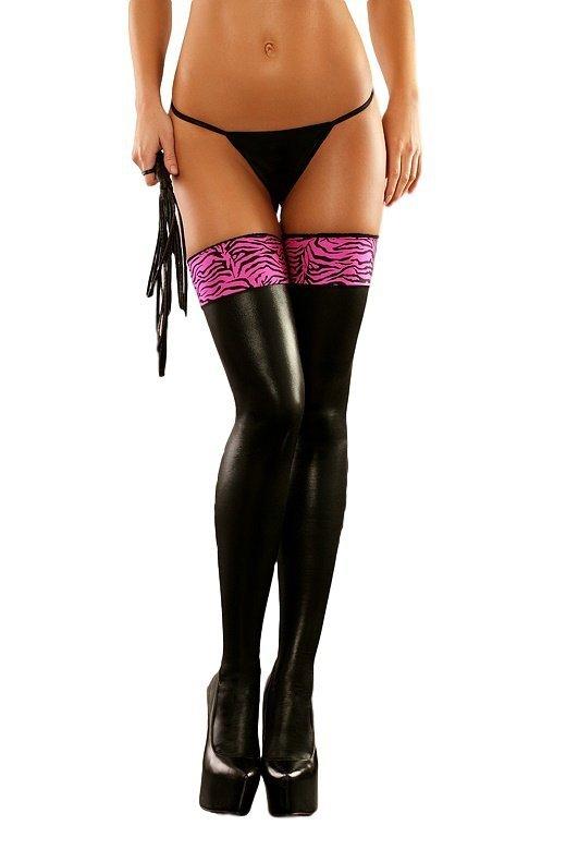 Lolitta Zebra Stockings Pończochy