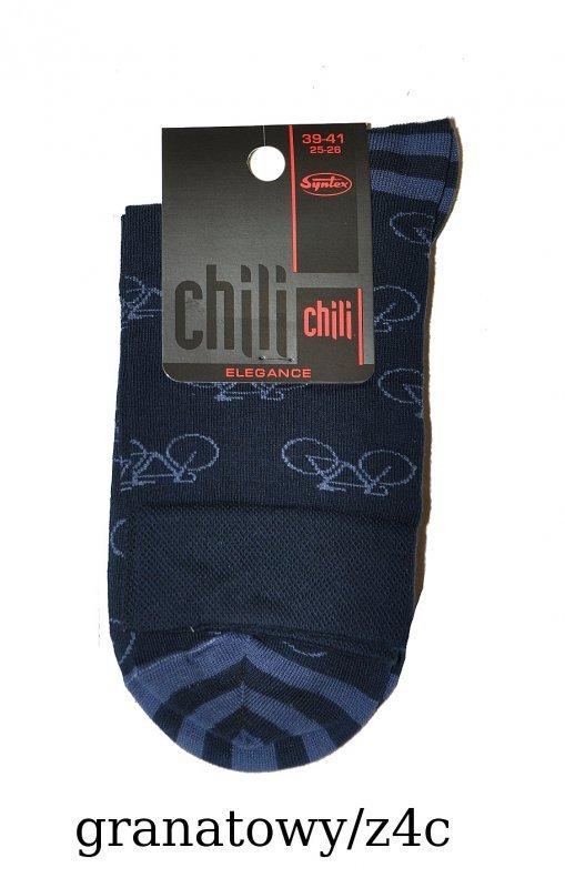 ae2176cc8941bd Syntex Chili Elegance SK-0163 wzór męskie skarpety - Kolorowe ...
