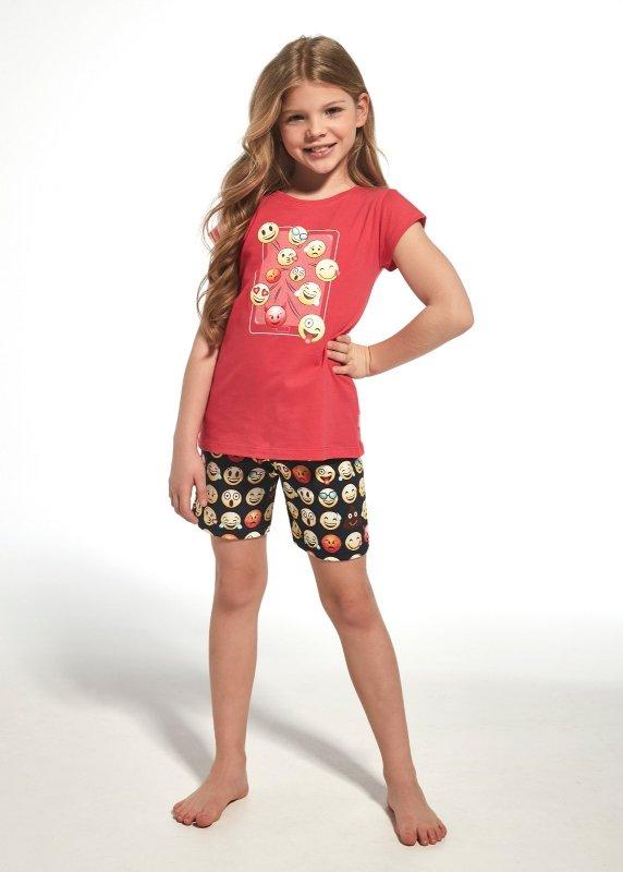 Cornette Kids Girl 787/64 Emoticon piżama dziewczęca