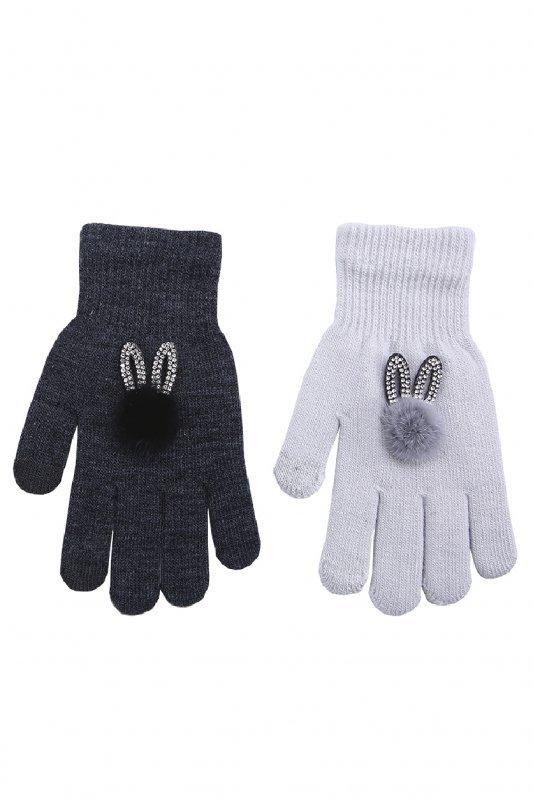 Rak R-172 Z Aplikacją rękawiczki dziewczęce