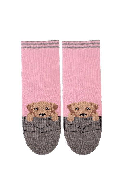 Bratex 2344 Happy Socks Kids Girl 30-37 skarpetki