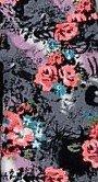 Moon 5131 Kwiaty legginsy damskie