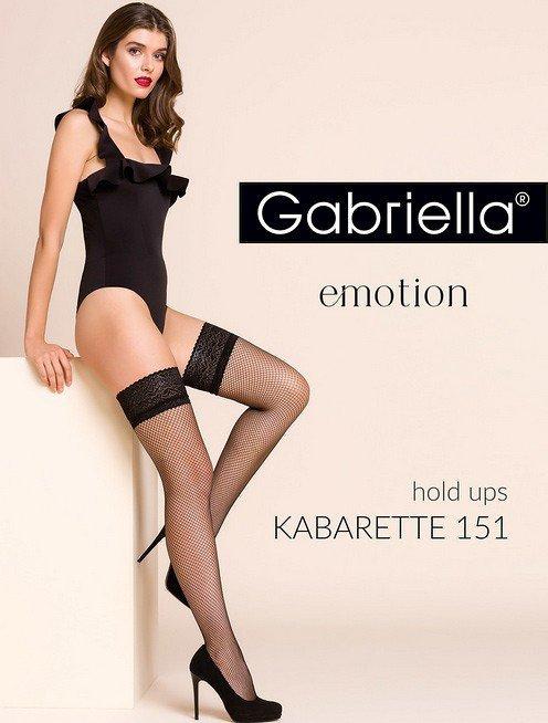 Gabriella 221 Kabarette 151 plus pończochy damskie