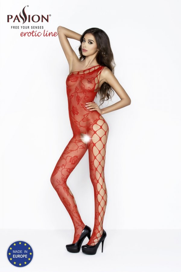 Passion BS036 red Bodystocking