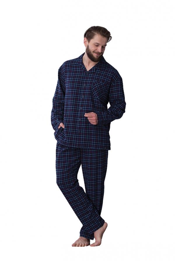 Key MNS 458 B21 piżama męska plus size