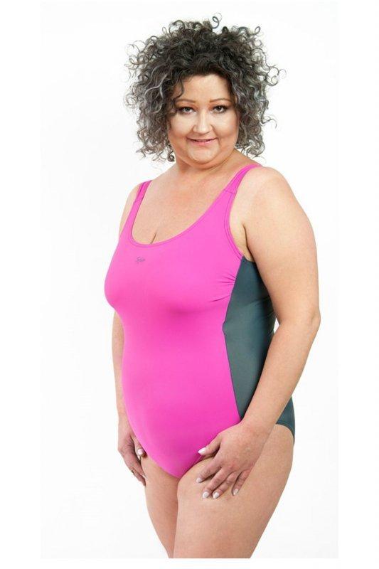 44a51eefe0389a Spin 3300 model 3301 różowy kostium kąpielowy - Kostiumy ...